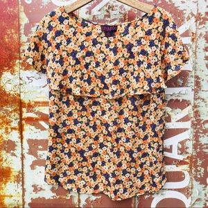 🌹✨Anthropologie Maple flower  top
